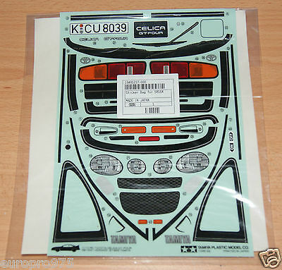 Tamiya 58164 Toyota Celica GT-Four/TA02, 9495227/19495227 Decals/Stickers, NIP