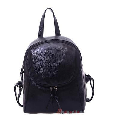 Women's PU Leather Satchel Shoulder Backpack School Rucksack Bags Travel Fashion