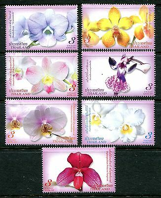 Thailand 2008 Orchids MNH