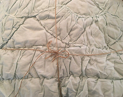 Pottery Barn Teen Parisian Twin Quilt & Sham Vintage Green NEW out of Package