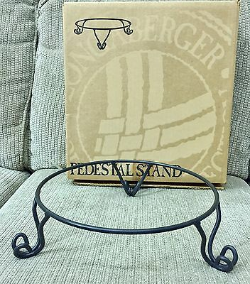 Longaberger WROUGHT IRON PEDESTAL STAND Item 78280 New With ORIGINAL BOX