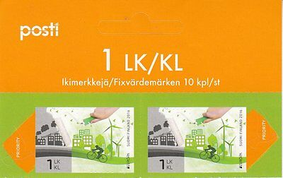 FINLAND.2016 EUROPA CEPT.THINK GREEN. 2 stamp.MNH