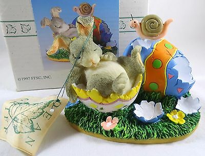 Charming Tails Figurine After the Hunt NIB Easter