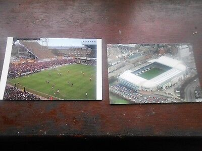 2 different postcards of Newcastle United's St James' Park from 1990's