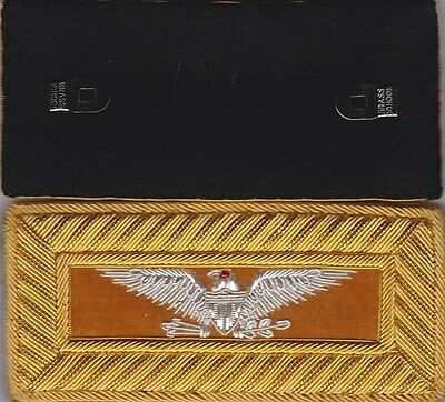 Civil War Cavalry Colonel Shoulder Boards Extra Rich Straps w/Free $20 Coin