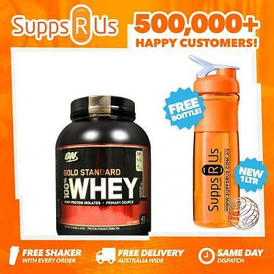 Optimum Nutrition Gold Standard 100% Whey 3.3Lbs Protein Isolate Low Carb Wpi