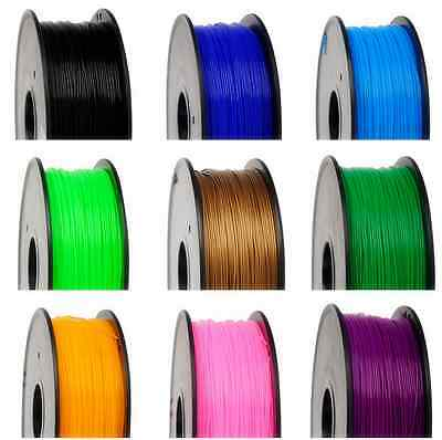 3D Printer Filament PLA 1.75mm 3mm 1Kg 16 Colours Makerbot, Up, apfrog UK