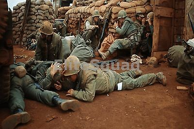 Vietnam War Photo US soldiers under attack attacks January 1968 #562