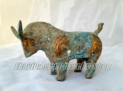 antique excellent China old Dynasty Bronze Horse Statue Free Shipping