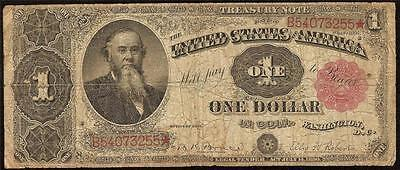 LARGE 1891 $1 DOLLAR BILL STANTON TREASURY COIN NOTE BIG PAPER CURRENCY Fr 352