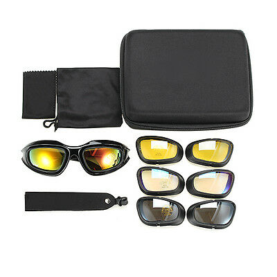Military Tactical Goggles Motorcycle Riding Glasses Sunglasses eyewear Cycling
