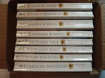 Lot of 51 Silhouette Harlequin Close To Home Paperback Books