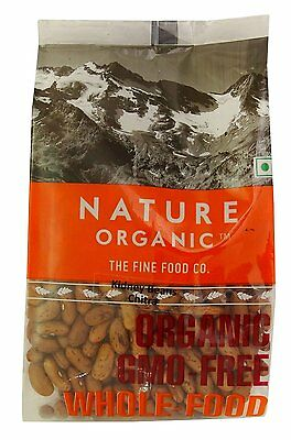 Nature Organic Speckled Kidney Beans Chitra 17.64 Ounce - USDA Certified