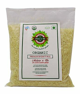 Nature 'n' Me Organic Premium Basmati Rice 35.2 Ounce - USDA Certified