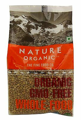 Nature Organic Red Split Lentils 17.64 Ounce - USDA Certified -Masoor Malka Dal