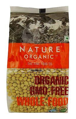 Nature Organic Soybean Whole Soya Beans 17.64 Ounce - USDA Certified