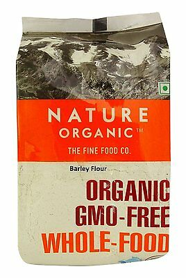 Nature Organic Barley Flour 17.64 Ounce - USDA Certified