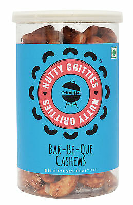 Nuttygritties Deliciously Healthy Bar-Be-Que Cashews 180 gm