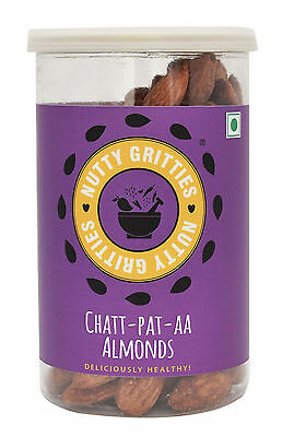 Nuttygritties Deliciously Healthy Chat-Pat-Aa Almonds 180 gm