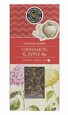 Nuttygritties Deliciously Healthy Cinnamon & Apple Mix 200g