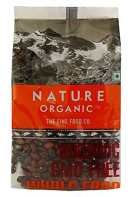 Nature Organic Red Kidney Beans Jammu 17.64 Ounce - USDA Certified