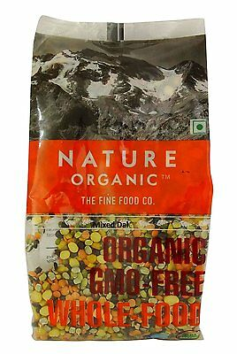 Nature Organic Mixed Lentils 17.64 Ounce - USDA Certified