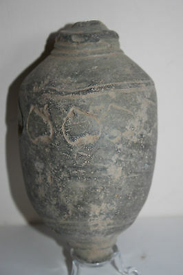 RARE ANCIENT BYZANTINE CERAMIC WAR  'GREEK FIRE' 10th C. AD.