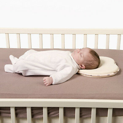 Newborn Baby Support Prevent Anti Roll Memory Foam Pillow Flat Head Neck 1pc