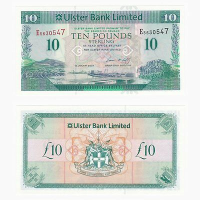 IRELAND - Ulster Bank Limited £10 Replacement note - BYB ref: NI.828a - UNC.