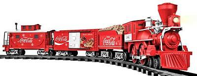 Lionel 7-11488 G Scale Coca-Cola Christmas Holiday Steam Train Set