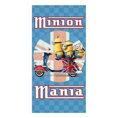 Despicable Me Minion Mania Towel OFFICIAL Kids Boys Girls Merchandise - NEW GIFT