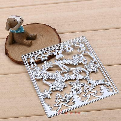Christmas Cutting Cutter Dies Stencil Embossing for DIY Scrapbooking Paper Card