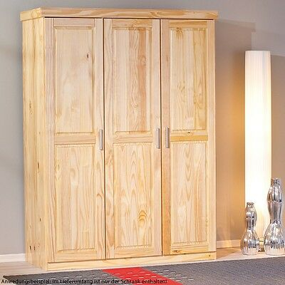schlafzimmerschrank holz gebraucht eur 36 95 picclick de. Black Bedroom Furniture Sets. Home Design Ideas