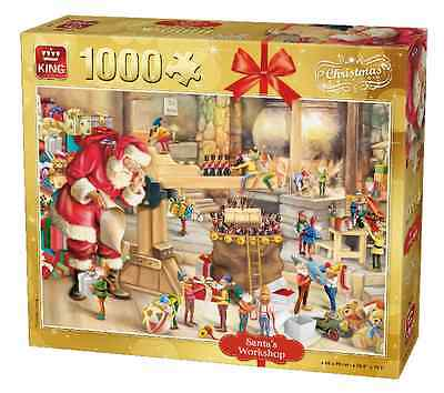 1000 Piece Christmas Jigsaw Puzzle - Father Christmas Santa's Workshop 05350
