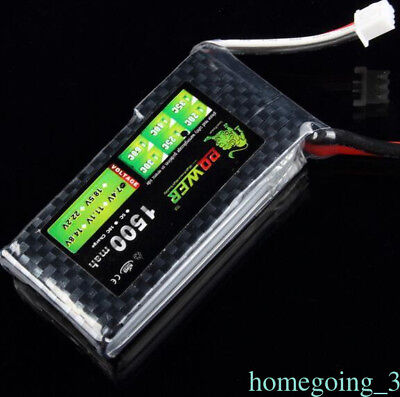 Lion Power 7.4V 1500Mah 25C 2S RC Lipo Battery T-plug Rechargeable for RC Car