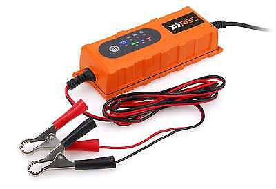 Rac 6V 12V 4A Up To 3 Litre Car Van Bike Intelligent Smart Battery Charger 120Ah