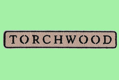 Torchwood Logo Patch - Uniform Aufnäher