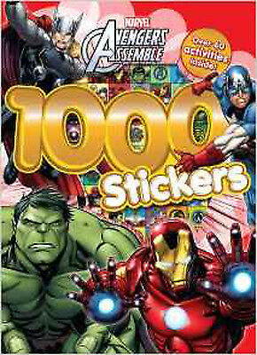 Marvel Avengers Assemble 1000 Stickers: Over 60 Activities Inside!, New, Parrago