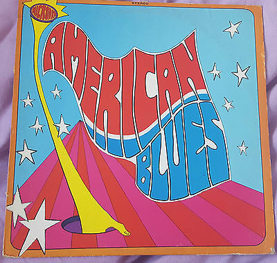 American Blues - Is Here  Microdot Records RARE LP  ZZ Top