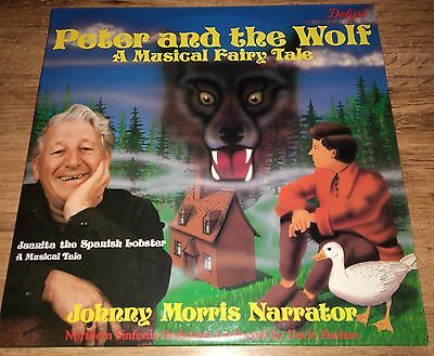 Peter And The Wolf A Musical Fairy Tale & Juanita The Spanish Longer Vinyl Lp