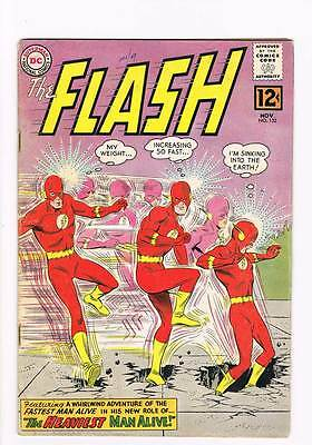 Flash # 132 The Heaviest Man Alive !  grade 4.0 scarce hot book !!