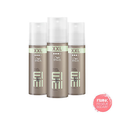 3x Wella Professionals EIMI Pearl Styler Styling Gel XXL 150ml