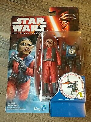 Star Wars The Force Awakens Nien Nunb action figure - New & sealed FREE POST