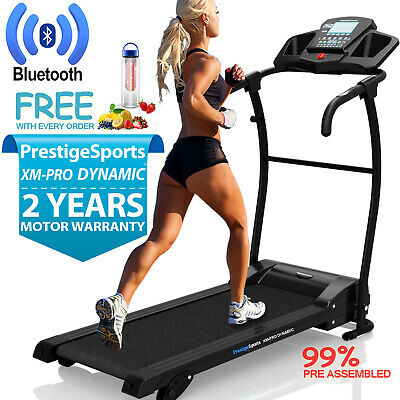 Treadmill XM-PRO Dynamic™ Incline- Electric Motorised Folding Running Machine