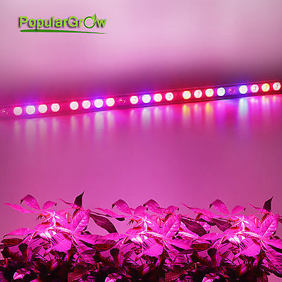 Upgrade waterproof 108w LED grow Light Bar UV IR Strip Lamp Hydro Plants Growing