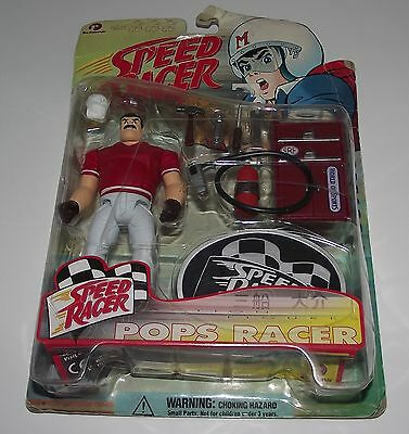 Rare Ban Dai Speed Racer Figure Pops Racer