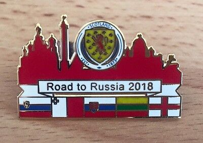 Scotland V England Ticket World Cup 2018 Group F Campaign Pin Badge