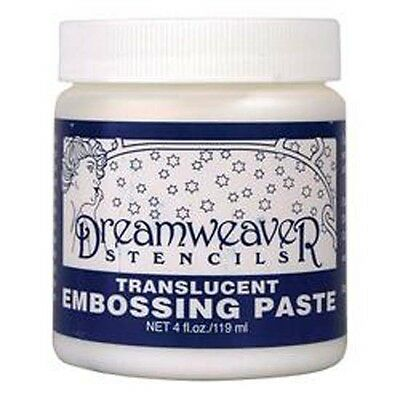 Transluscent - Dreamweaver Embossing Paste 4oz