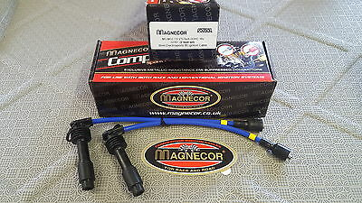 MG3 MAGNECOR HT IGNITION LEAD SET, 1.5 VTECH, ESport BLUE 8 mm, 40628, NEW