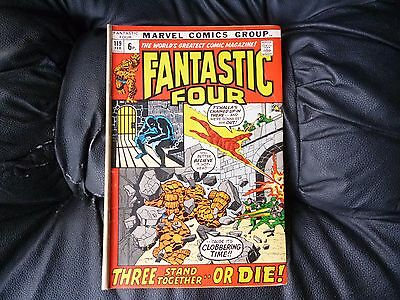 Fantastic Four # 119 fairly nice condition